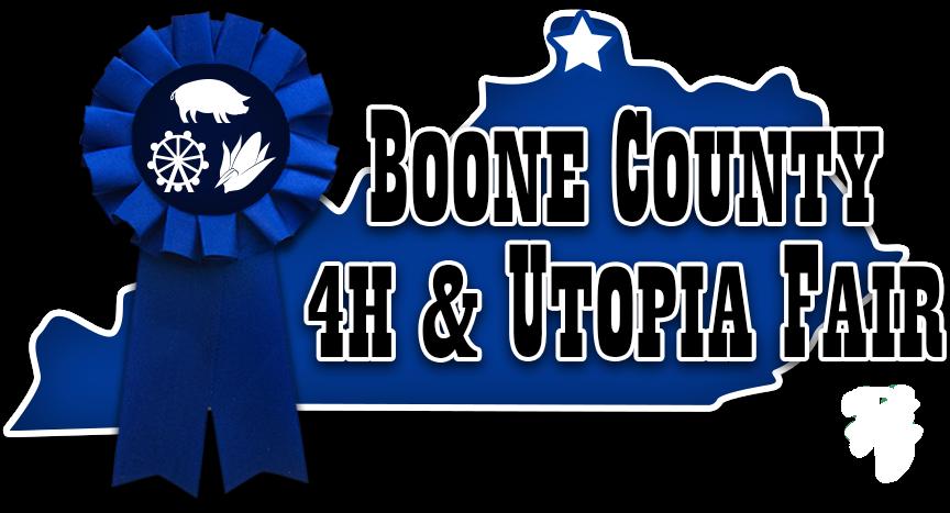 Boone County, KY 4-H and Utopia Fair Logo
